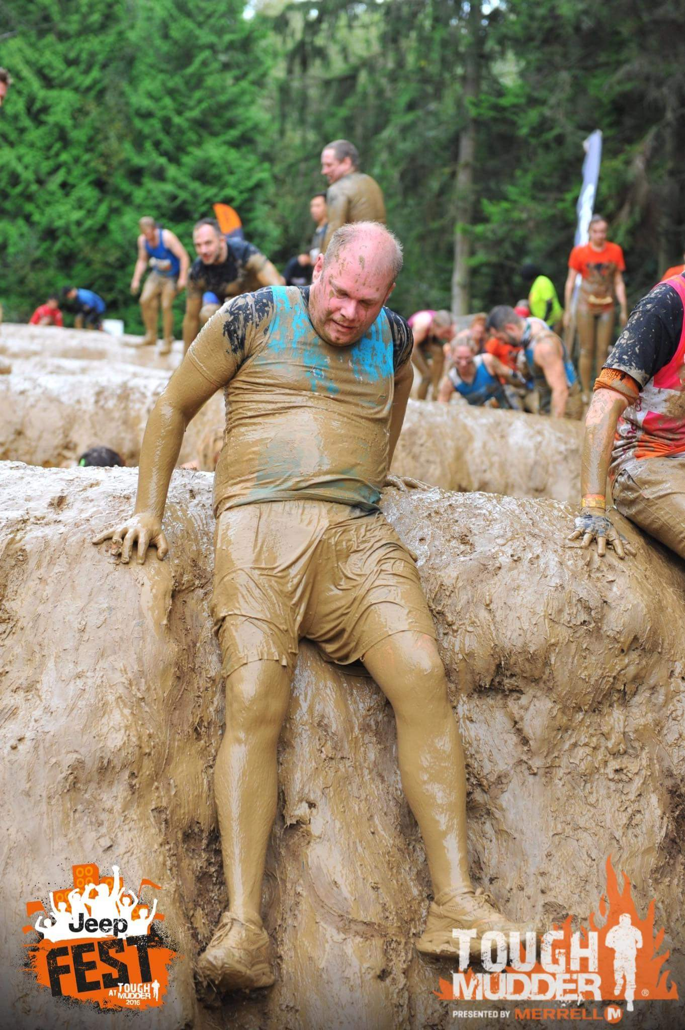 Origen - Tough Mudder challenge raising awareness of Childlife - image by Gameface Media