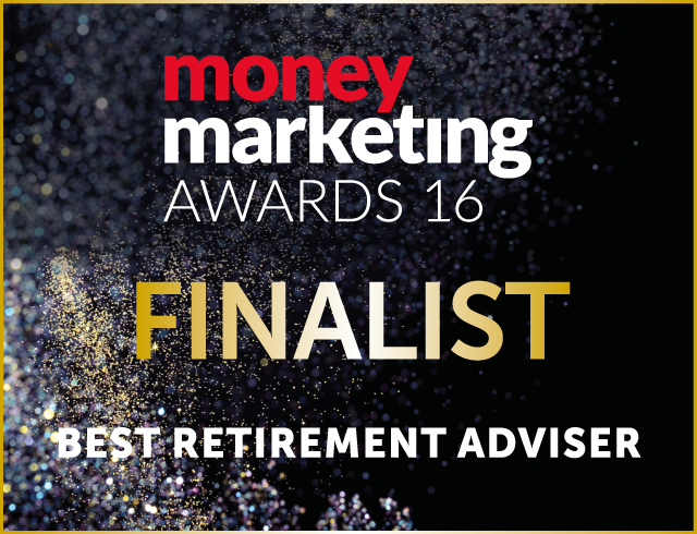 Money Marketing Awards 2016 - Origen Finalist Best Retirement Adviser